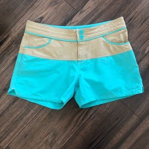 Patagonia Wavefarer Board Shorts Color Block